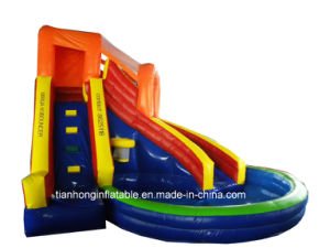 Cheap Inflatable Slides for Sale/ Giant Outdoor Slide pictures & photos