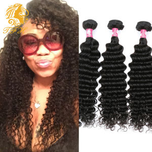 Brazilian Virgin Human Hair Extension Deep Wave (STW613) pictures & photos