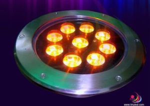 12/24V 15*1W Underground RGB LED Light pictures & photos