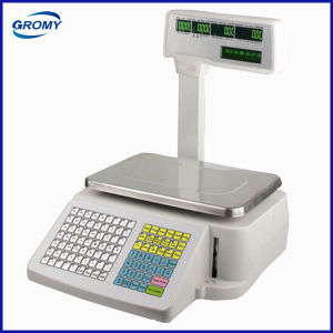 Electronic Scale with Label Printer pictures & photos