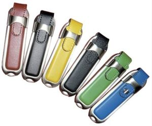 1GB-64GB Rectangular Leather USB Flash Drive Style No. UF-406 pictures & photos
