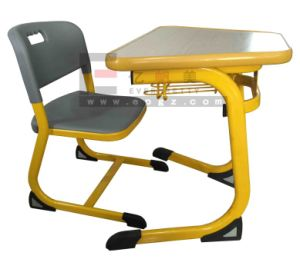 Kid Party Study Plastic Table and Chair for Children Preschool Furniture pictures & photos