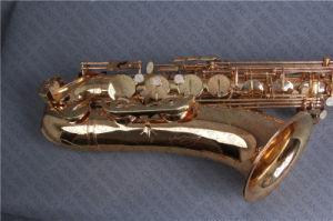 Tenor Saxophone (Canex SAT-L) /Saxophone/Saxophone Gold Lacquer pictures & photos