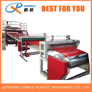 Factory of PVC Carpet Plastic Extrusion Machine pictures & photos