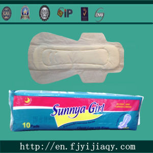 290mm Long Maxi Disposable Soft Dry Sanitary Napkin Pad pictures & photos