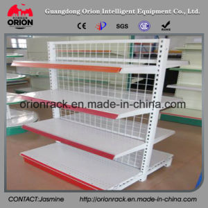 Industrial Metal Supermarket Display Rack Shelving pictures & photos