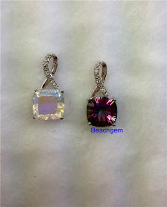 Jewellery-Mystic Quartz Sterling Silver Pendant (P199) pictures & photos