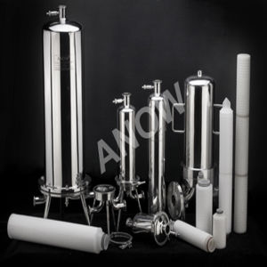 Ce Certified Liquid Filter Stainless Steel Filter Housing for Liquid Filtration pictures & photos