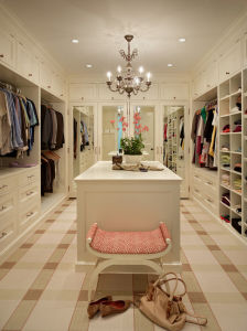Modern Home Furniture White Color Fashion Walk in Closet pictures & photos