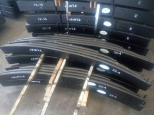 Conventional Truck Trailer Suspension System Spare Parts Leaf Spring pictures & photos