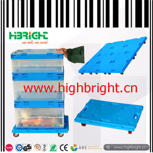 Plastic Dolly for Plastic Transportation and Storage Crates Box pictures & photos