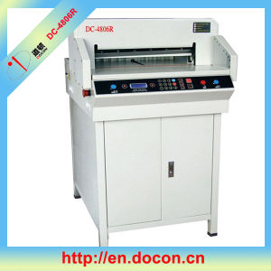 Electric Paper Cutter Machine 480mm pictures & photos