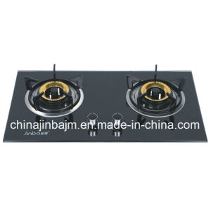 2 Burners Tempered Glass Built-in Hob/Gas Hob/Gas Stove pictures & photos