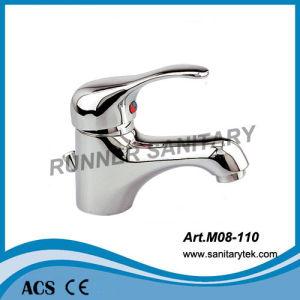 Sngle Handle Basin Faucet Mixer (M08-110) pictures & photos