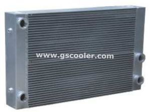 Aluminum Cooler for Construction Machinery (B1003) pictures & photos