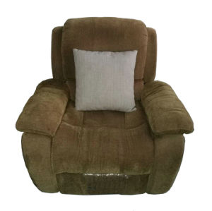 Fabric Manual Type Recliner Sofa for Living Room Furniture and Cinema Furniture (GA03) pictures & photos