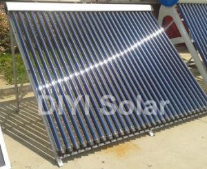 High-Effciency Split Pressurized Solar Collector