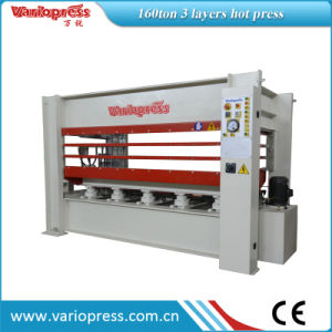 Hot Press Machine for Door /Furniture 160tons 3 Layers pictures & photos