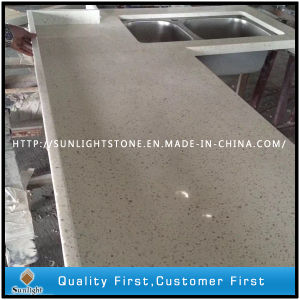 Artificial Quartz Stone Kitchen Countertops/Quartz Vanity Tops/Worktops pictures & photos