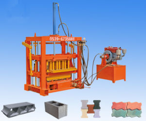 Cement Brick Block Making Machine Price List Nepal, Diesel Engine Block and Brick Making Machine pictures & photos