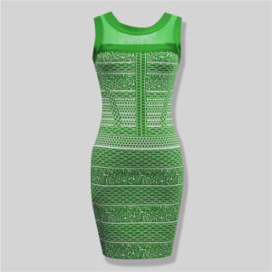Hot Sale Ladied Lace Bodycon Dresses pictures & photos