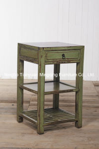 Primitive Simplicity and Elegant Side Table Antique Furniture pictures & photos