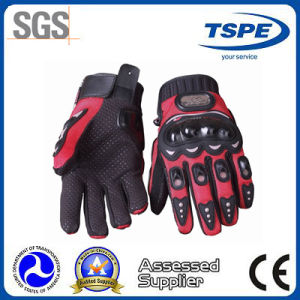 High Quality Waterproof Microfiber Full Finger Motorcycle Gloves (MCS-01B)