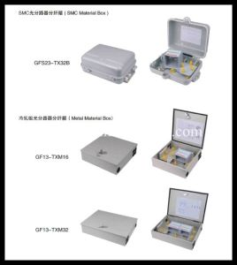 Cold Rolled Sheet FTTH 48 Cores Distribution Box- FTTX Box pictures & photos