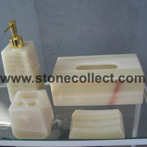 Marble / Onyx Bathroom Accessory Set pictures & photos