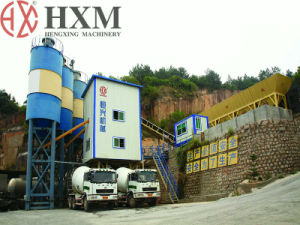 HZS75 Concrete Batching Plants for High-Speed Railway