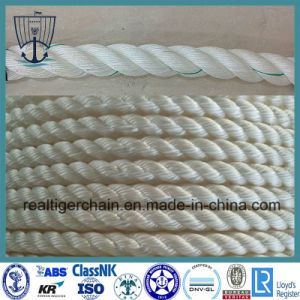 Mooring Rope/Hawser/Marine 3/4 Strand Rope pictures & photos