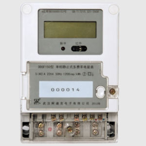 Single Phase Electronic Type Multi-Rate Smart GSM Power Meter pictures & photos