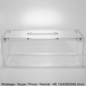 New Design Acrylic Napkin Tissue Box Container pictures & photos