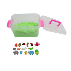 1kg Eco-Friendly DIY Sensory Discovery Magic Sand for Kids′ Sensory and Therapy (MQ-DSA20) pictures & photos