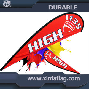 Outdoor Flying Teardrop Feather Banner Flag Banner pictures & photos