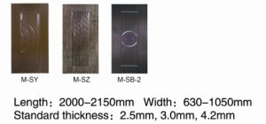 4.2mm Melamine Door Skin From Luli Group pictures & photos
