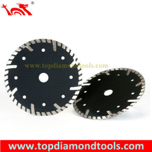 Diamond Turbo Cutting Blades with Turbo Wave pictures & photos
