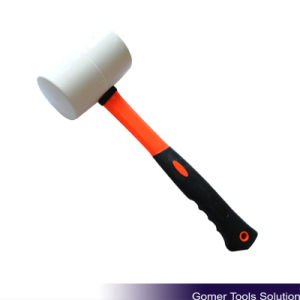 Rubber Mallet with Fiberglass Handle (T05094)