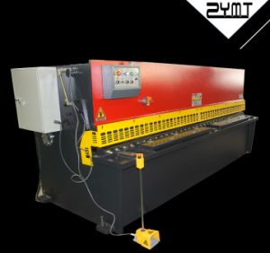 Swing Beam Shear/Hydraulic Shearing Machine/Hydraulic Cutting Machine/Shear pictures & photos
