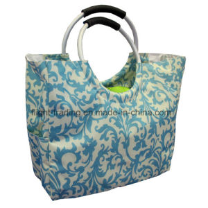 Color 600d Polyester Handbags with Aluminium Handle pictures & photos