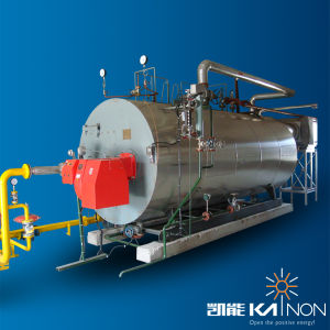 Gas/Diesel/Dual Fuel Packaged Shell Steam Boiler