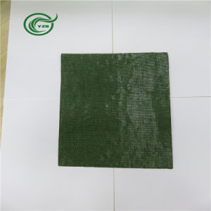 Pb2816 Woven Fabric PP Primary Backing for Carpet (Green) pictures & photos
