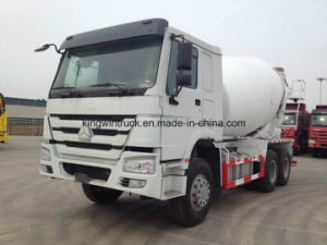 Sinotruk Brand Concrete Mixer Truck with The 6-10m3 pictures & photos
