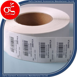 Wholesale Garment Label Sticker White Wash Care Label Sticker pictures & photos