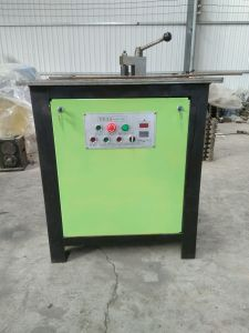 Wrought Iron Bending Machinery /Iron Bending Machine for Flat Iron, Square Steel pictures & photos