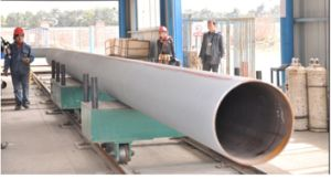 Pipe Prefabrication Heavy Rail Conveying System pictures & photos