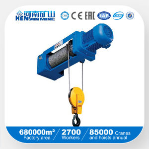 Monorail Wire Rope Electric Hoist Monorail Crane pictures & photos