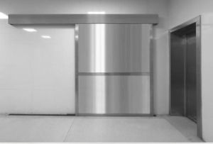 CT Room Radiation Protection Automatic Lead Door pictures & photos