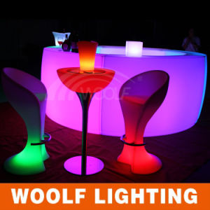 LED Lighted Party Bar Cocktail Tables pictures & photos