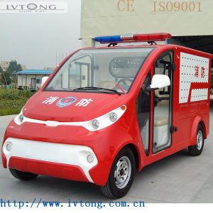 Hot Sell 2 Seats Electric Fire Fighting Truck pictures & photos